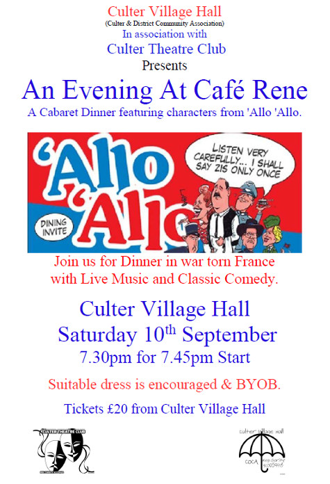 Allo Allo Cabaret Night