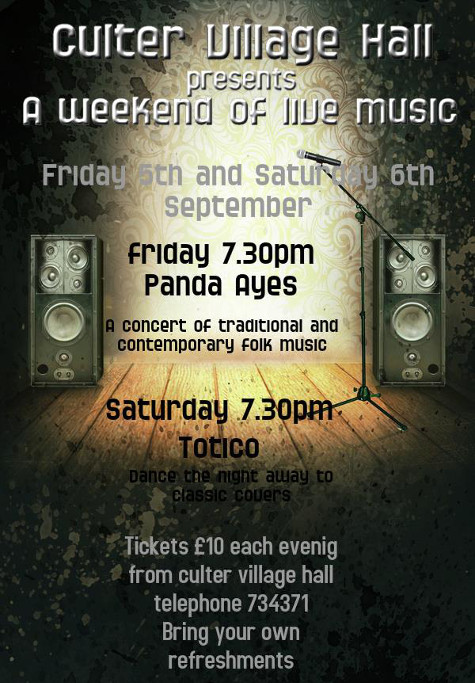 A Weekend of Live Music