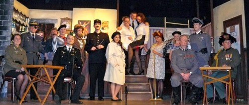 Cast of Allo Allo